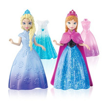 Set De Ana Y Elsa Frozen Magic Clip Disney Princess Mattel