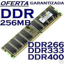 Memoria Ram Ddr 256 Mas Velocidad A Tu Computadora Rematamos