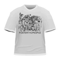 [art-factory] Indie Rock Bands -playera De Foster The People