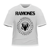 [art-factory] Indie Rock Bands - Playera De The Ramones