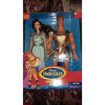 Disney Hercules Y Megara Legend Of Love Nuevos Tamaño Barbie