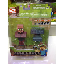 Figura De Minecraft Villager Blacksmith Steve !!!