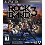 Rock Band 3 Nuevo Ps3 Blakhelmet Sp
