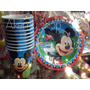 Mickey Mouse Vasos O Platos