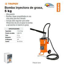 Bomba Inyectora De Grasa 5 Kg Truper Dizome