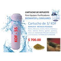 Filtro Kdf Elimina Metales Pesados, Plomo, Mercurio, Hierro