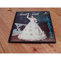 Opera La Traviata / Verdi / Renata Tebaldi - Lp 3 Discos