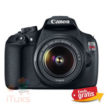 Ituxs | Cámara Canon Eos Rebel T5 18-55 Nueva | Envio Gratis