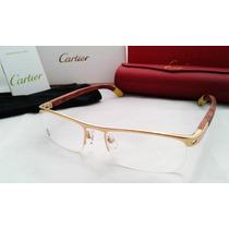 Lentes Cartier Oftalmicos Armazon Mod-140