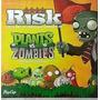 Risk Plants Vs Zombies Juego De Mesa Plantas Contra Zombies