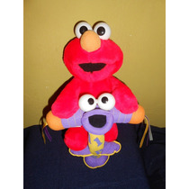 Peluche Elmo Saltarin 34 Cms Fisher Price