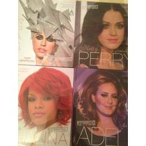 Libros Biograficos Katy Perry, Adele Lady Gaga, Rihanna