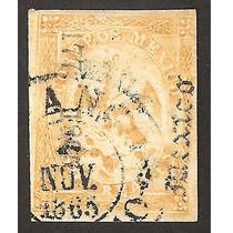 Imperio Mexicano Aguila 1865 Dos Reales Dist Mex 8