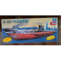 Submarino U-581 Motorizado Lodela Lee Escala 1/150