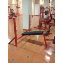 Bench Press Olimpico Declinado S/b Marca:guerrra Fitness E.