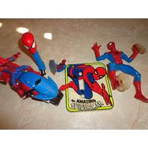 Lote De Varias Juguetes De Spiderman