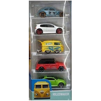 Hot Wheels Volkswgen 5pack Vw Golf Kombi Safari Beetle