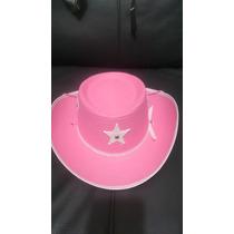 Paquete Caballito Madera Y Sombrero Vaquero Fiesta Infantil