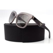 Lentes De Sol Prada Opr 24qs Tfu 3m1 Black & Grey Italiano