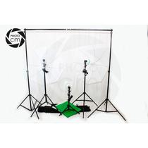 Estudio Fotográfico Completísimo + Portafondos + Fondos