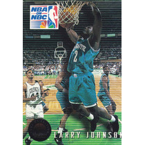 1993-94 Skybox Premium Playoff Performance Larry Johnson