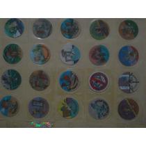 Coleccion Completa 100 Tazos Tiny Toons De 1994 Lenticulares