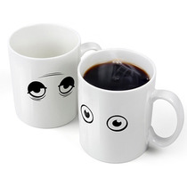 Taza Cambio Termico Blanca Wake Up Fred And Friends