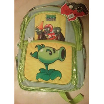 Backpack Mochila Plantas Contra Zombies