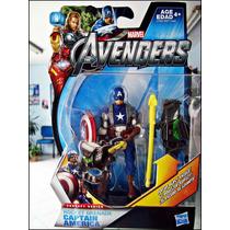Avengers Capitan America,concept Series,nuevo Sellado,13 Cm.