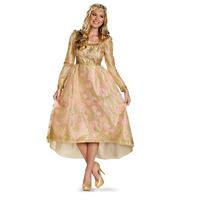 Disfraz Aurora Malefica Mujer Adulto Dama Lujo Talla 12/14