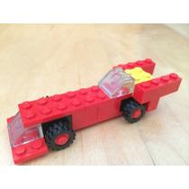 Auto Lego De Mcdonalds 1986. Impecable, Completo Y Manual!