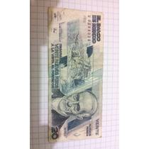 Billete 20 Nuevos Pesos Banco De Mexico 1992