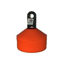 Conos De Disco - Conjunto De 50 Naranja Con Carrier
