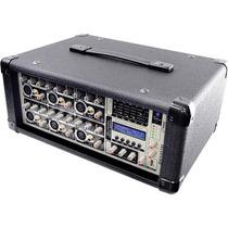 Pyle Pro Pmx602m Amplificador De Potencia Y Mezclador