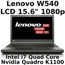 W540 I7 Quad 16gb Ssd-h 1tb Dedic 2gb Ddr5 Win7-pro Gar 3ano