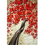 Arbol Rojo- Cuadros, Pinturas Al Oleo De Dmitry Spiros