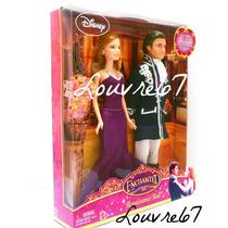 Giselle Y Robert Disney Princesa Encantada Tipo Barbie Y Ken