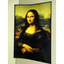 Colección De 5 Pinturas Obras De Arte (vinci, Gogh, Miguel)