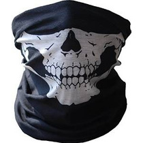Diageng Negro Seamless Skull Face Mask Tubo De Buff