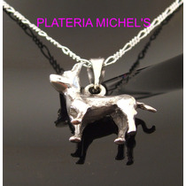 Perro Chihuahua Cuerpo Completo Plata 0.925