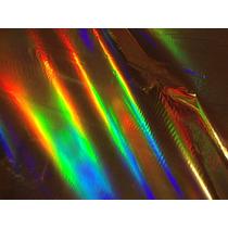 Foil Holográfico Laser Especial Para Metalizar Toner