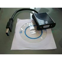 Cable Adaptador Convertidor Usb 3.0 A Vga Full Hd 1080p