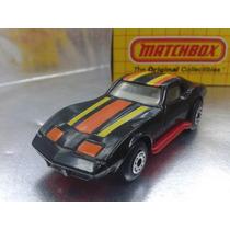 Matchbox - Chevrolet Corvette De 1983 Con Caja Original