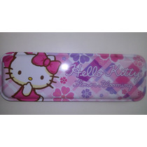 Lapicera Metalica Hello Kitty! Utiles Escolares