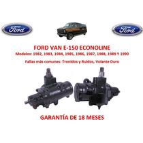 Caja Sinfin Direccion Hidraulica Ford Van Econoline 1990