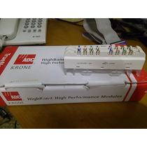 Caja Con 10 Regletas 8 Pr Adc Krone/te Cat 6a