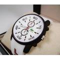 Reloj . L A C O S T E .  Acero/ Caucho Nuevo  Kbcb1