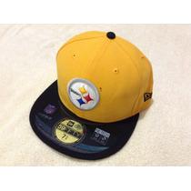 Nfl Pittsburgh Steelers Gorra 7 3/8 = 58.7cms New Era