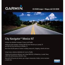 Ultimo Mapa Mexico City Navigator Garmin Nuvi Envio Al Mail