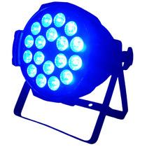 Luz Disco Cañon Par 64 18x12w 5 Colores Rgbwy Super Potente